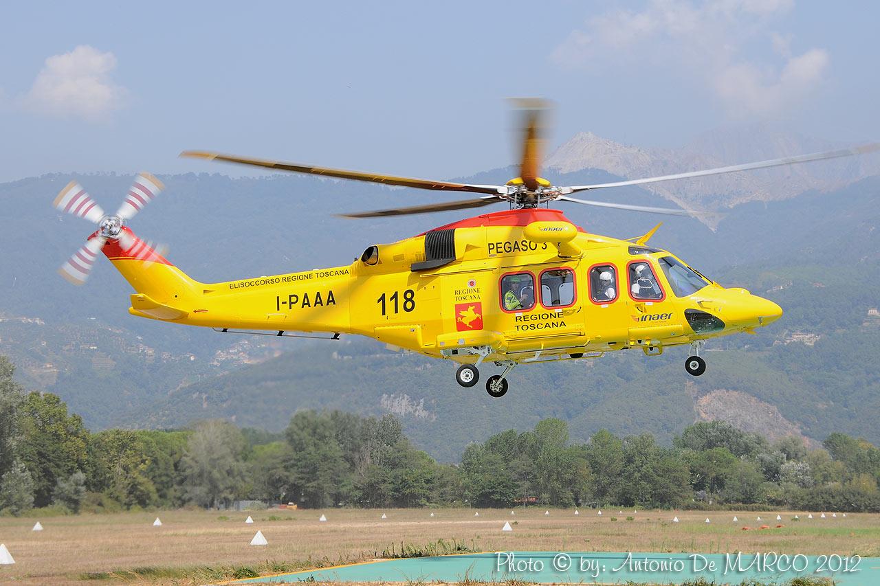Elicottero Falco : L elisoccorso soccorso alpino e speleologico toscano sast
