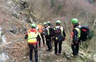 Intervento della stazione di Querceta per un infortunato sul Monte Lieto