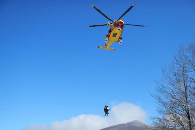 La Stazione di Carrara del Soccorso Alpino Toscano è stata attivata per due alpinisti bloccati sulla parete Nord del Pizzo d'Uccello