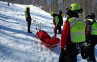 La stazione Appennino del Soccorso Alpino Toscano in soccorso di due sciatori bloccati sull'Abetone