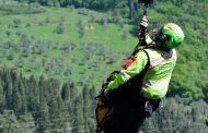 Intervento Soccorso Alpino Toscano e l'Elisoccorso Pegaso 2 sul Pizzo delle Saette