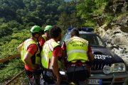 Fine settimana di fuoco per i volontari del Soccorso Alpino Toscano della Stazione Monte Falterona.