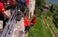 Intervento della Stazione Monte Amiata per recupero ferito a Pienza