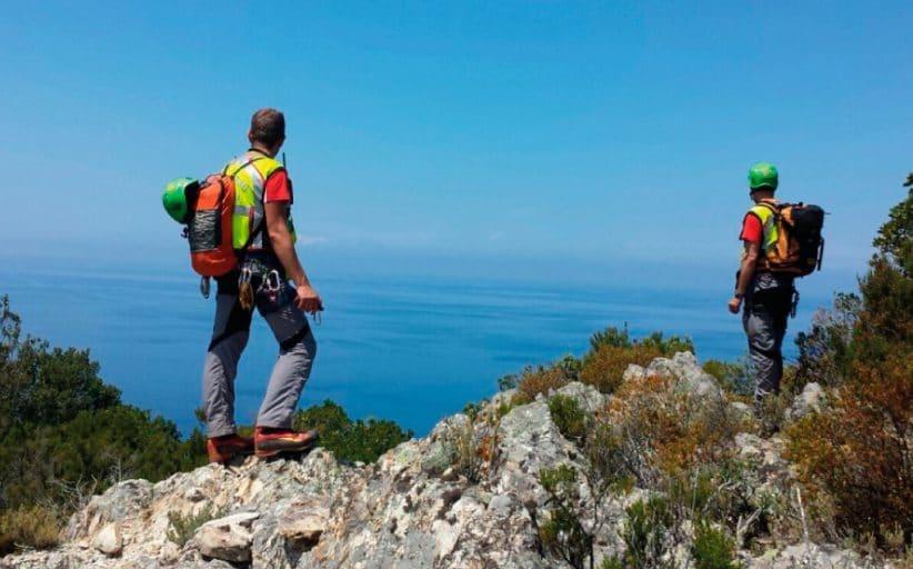 Intervento della Stazione Amiata per ricerca disperso a Marciana Marina (Isola D'Elba, LI)
