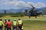 Photogallery Addestramento Aeronautica & CNSAS 2016