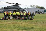 Martedì 5 Luglio Aereonautica Militare e Soccorso Alpino insieme per un'esercitazione a Borgo San Lorenzo
