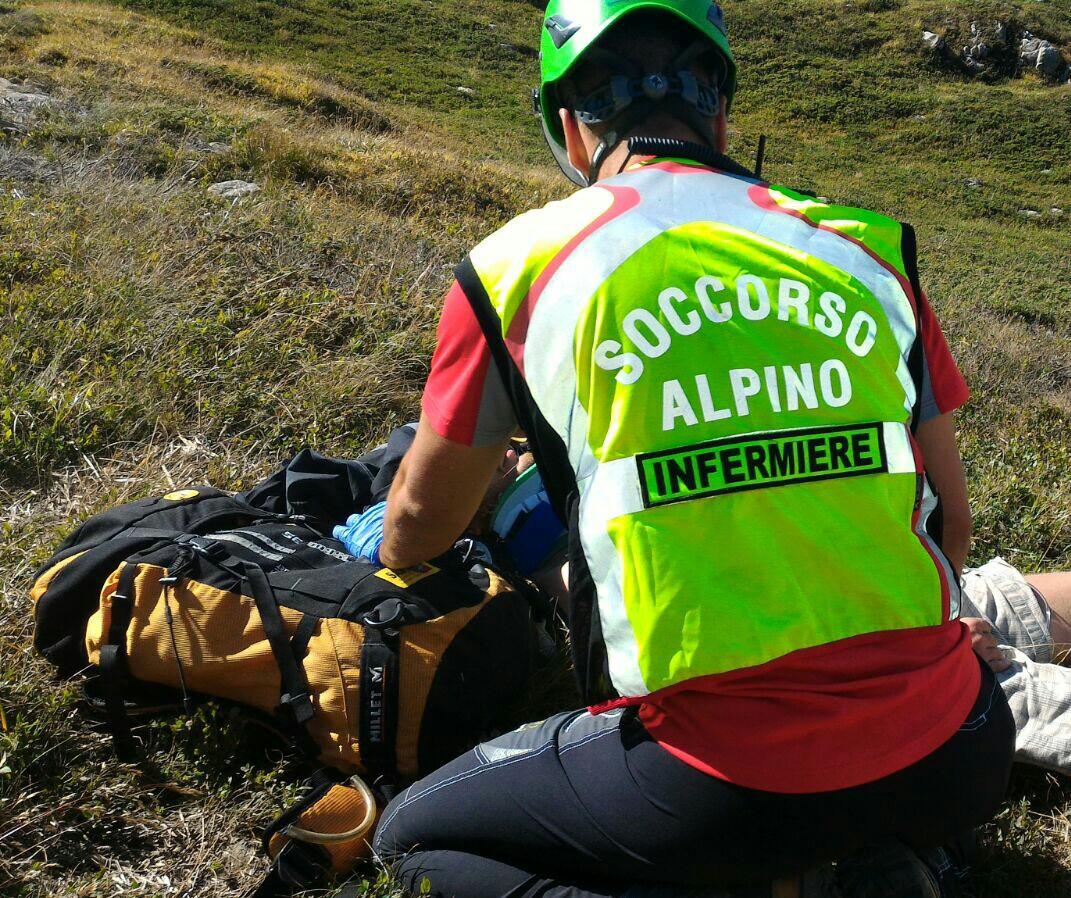 La Stazione Appennino Toscano del Soccorso Alpino Toscano allertata per un biker ferito sul monte Cuccola