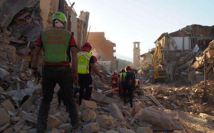 """Terremoto: il Presidente del CNSAS scrive a tutti i tecnici. """"Siete stati eccezionali"""""""