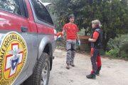 Intervento della Stazione Monte Falterona per recupero ferito in località Vertelli