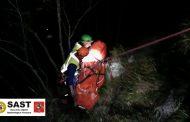 Esercitazione notturna della Stazione di Querceta, prosegue l'attività addestrativa e di formazione del personale del Soccorso Alpino Toscano