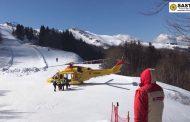 Intervento della Stazione Appennino per il recupero di uno sciatore ferito in località Val di Luce