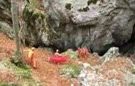 28 e 29 gennaio prima esercitazioni 2017 dalla III zona speleo del Soccorso Alpino e Speleologico Toscano