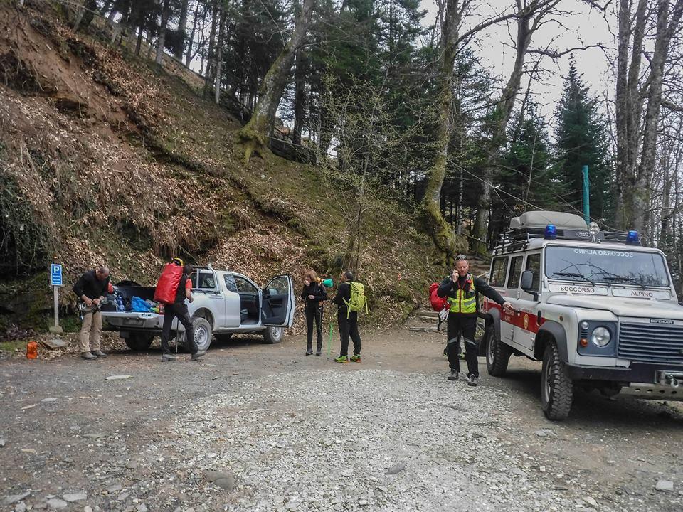 La Stazione di Querceta del Soccorso Alpino Toscano è intervenuta oggi a Malbacco per soccorrere una donna