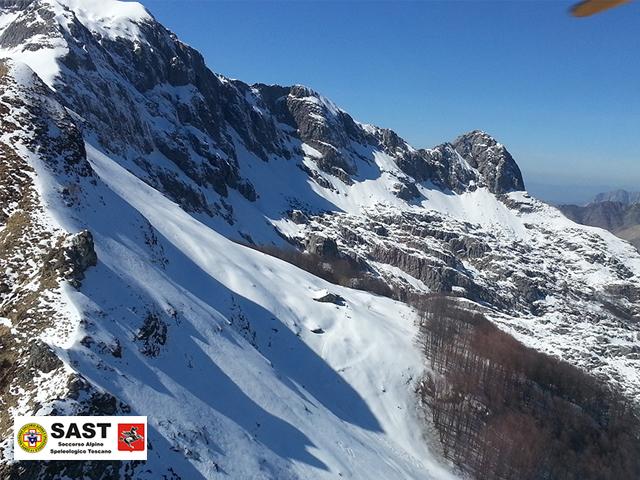 Soccorso Alpino Toscano: tragico incidente alpinistico sulla Pania della Croce