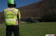 XVII delegazione del Soccorso Alpino in esercitazione con l'Aeronautica Militare