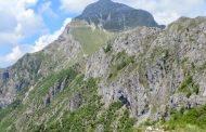 La stazione di Querceta del Soccorso Alpino Toscano in aiuto di un cane precipitato da un sentiero