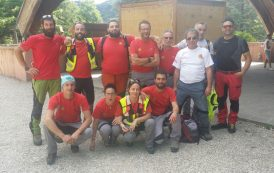 Il Soccorso Alpino e Speleologico Toscano in assistenza all'ottava edizione Trail del Falterona