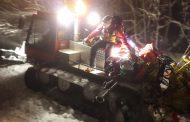 La Stazione Monte Falterona del Soccorso Alpino Toscano in soccorso ad uno Sci Alpinista infortunato in località Piancancelli