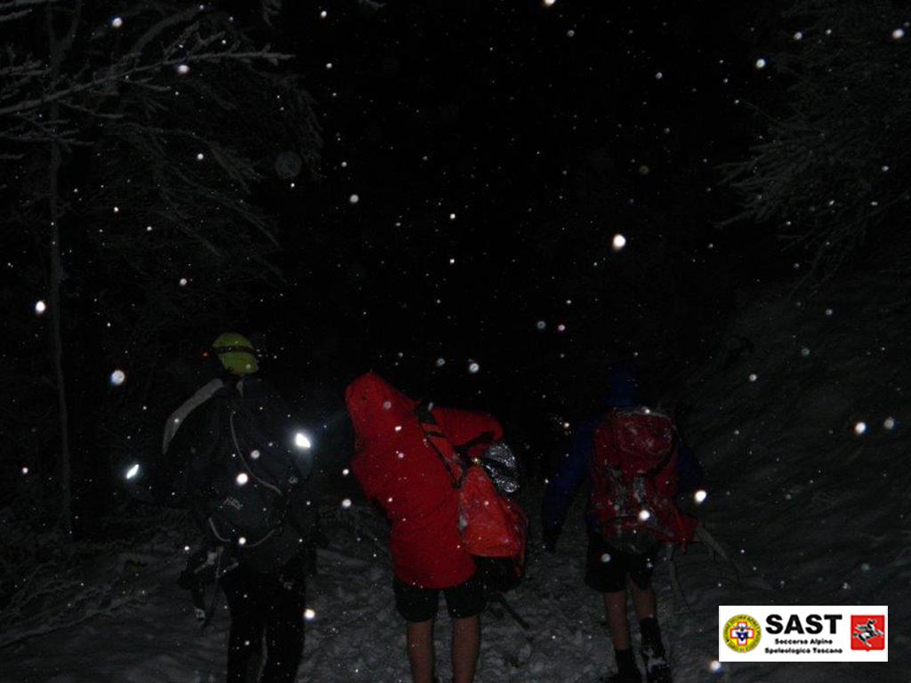 La Stazione Monte Falterona del Soccorso Alpino Toscano è intervenuta per soccorrere un gruppo di 7 boy scout