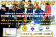 Sicuri sulla Neve 2018 con il Soccorso Alpino Toscano