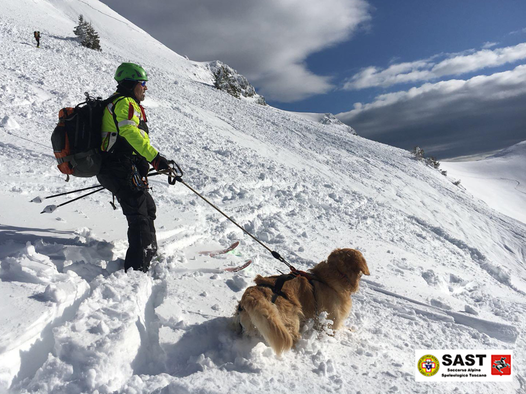 La Stazione Appennino Toscano del Soccorso Alpino Toscano è stata attivata per un intervento in Val di Luce per un distacco di un fronte valanghivo