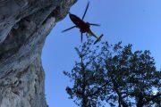 I Volontari della Stazione Monte Amiata in soccorso di un climber infortunato nella zona del Monte Argentario