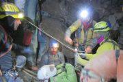 Terminato l'Intervento di soccorso nella grotta della Mottera dove sono stati impegnati anche i tecnici del Soccorso Alpino e Speleologico Toscano
