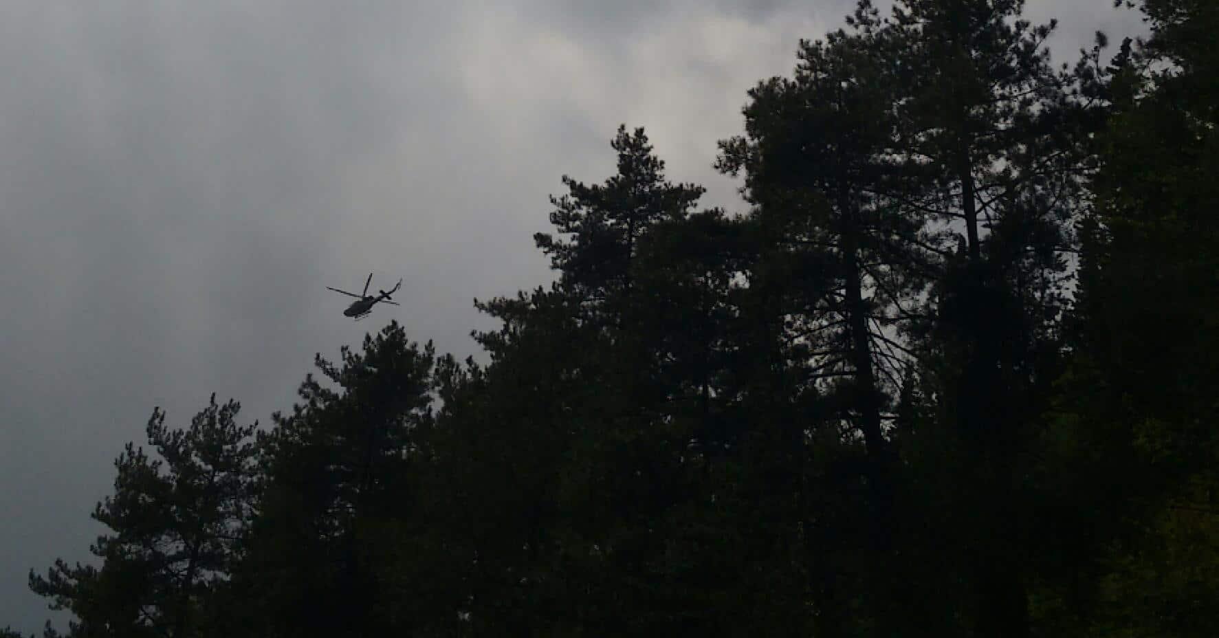 Intervento di recupero di due escursioniste in difficoltà in località Madonna dei Tre Fiumi per la stazione Monta Falterona del Soccorso Alpino Toscano