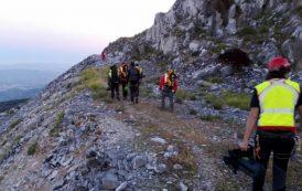La Stazione di Massa del Soccorso Alpino Toscano attivata per un intervento di ricerca nella zona della via Vandelli-Gruppo M.Tambura