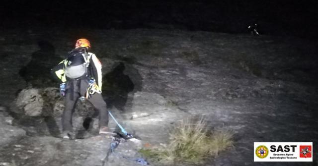La Stazione di Lucca del Soccorso Alpino Toscano è stata allertata per due alpiniste bloccate sulla Pania Secca