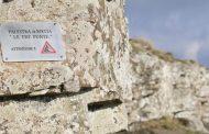 Lavori di Manutenzione presso la palestra di roccia le tre punte in Pratomagno (Ar)