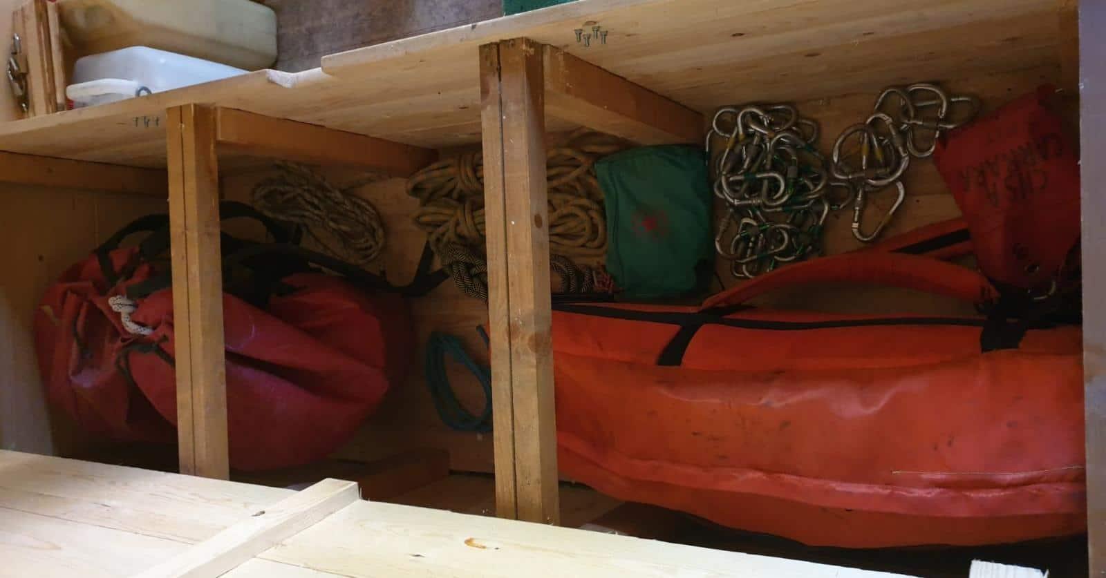 Un grande contributo per il soccorso Alpino Toscana alla capanna Garnerone