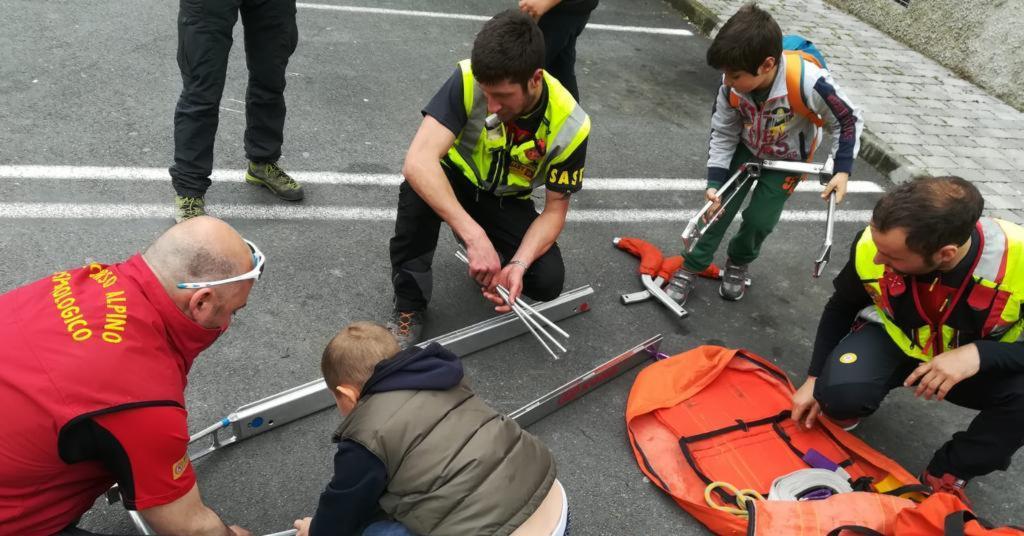 Volontari per un giorno...bambini protagonisti con l'evento della Stazione Carrara e Lunigiana del Soccorso Alpino Toscano
