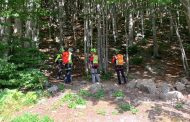 La stazione di Lucca del Soccorso Alpino Toscano in aiuto di due giovani escursionisti in difficoltà