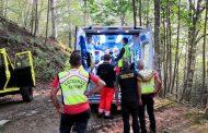Intervento per i tecnici della stazione Appennino del Soccorso Alpino Toscano nella zona del Rifugio del Montanaro nel comune di San Marcello Pistoiese per un runner infortunato