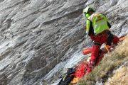 Soccorso Alpino Toscano, i tecnici della Stazione di Massa impegnati su di un tragico incidente sulle Alpi Apuane