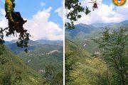 La Stazione di Lucca del Soccorso Alpino Toscano intervenuta per un incidente mortale alla Penna di Lucchio