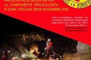 28/29 di Novembre 2020 Selezioni nuovi aspiranti Speleo